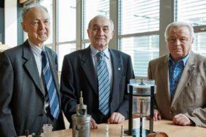 Gli inventori delle mini-turbine per avere energia low-cost dall'acqua (fonte: European Inventor Award/Epo)