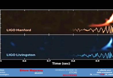 Il Professore Ettore Majorana e le onde gravitazionali