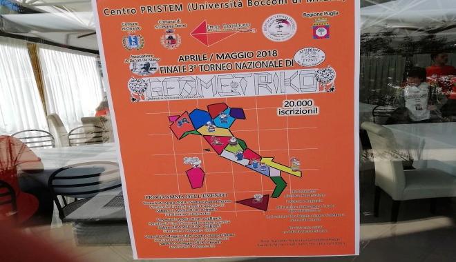Mercoledì 27 febbraio, gli alunni della classe V A di Nasari hanno partecipato alla prima fase del torneo di geometriko, che è stata disputata nei locali della scuola, per selezionare i finalisti del gioco.