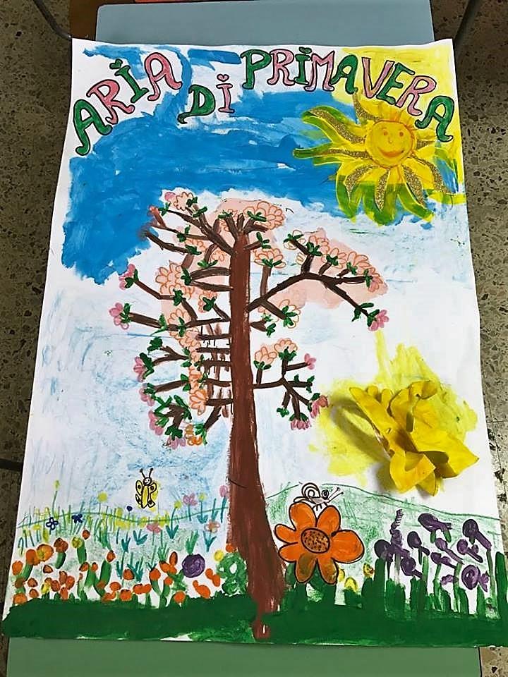 I bambini scoprono la primavera