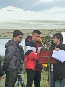 intervento degli studenti a Gigliopoli