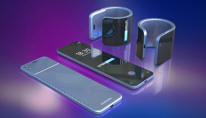 IL TELEFONO PIEGHEVOLE, IL FUTURO DELLA TECNOLOGIA