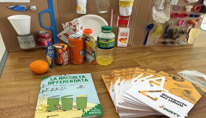 La difesa dell'ambiente e riciclo rifiuti nasce a scuola
