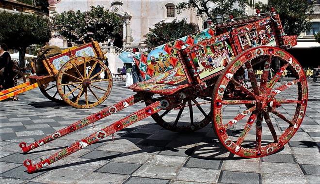 Il carretto siciliano, orgoglio della nostra tradizione!