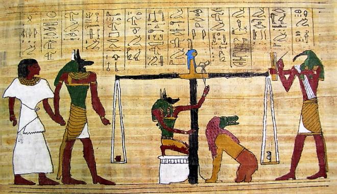 NOI COME GLI ANTICHI EGIZI: DAL PAPIRO ALLA CARTA