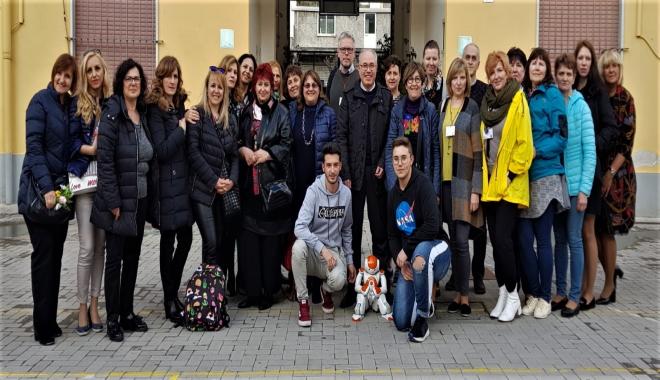 Erasmus Plus all'I.C. Militi Coding e robotica: alla scoperta di NAO