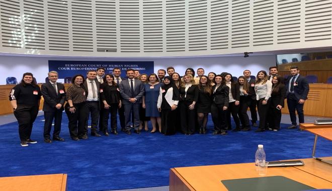 Studenti UNIME in visita alla Corte europea dei diritti dell'uomo