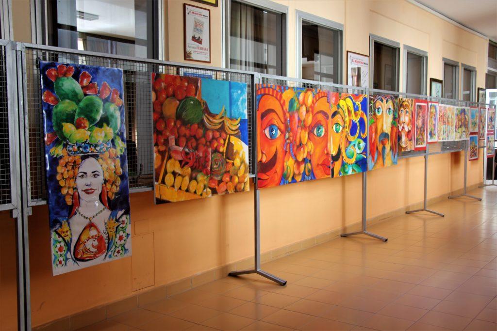 AL MAJORANA INCONTRO CON L'ARTISTA SALVO CURRO'