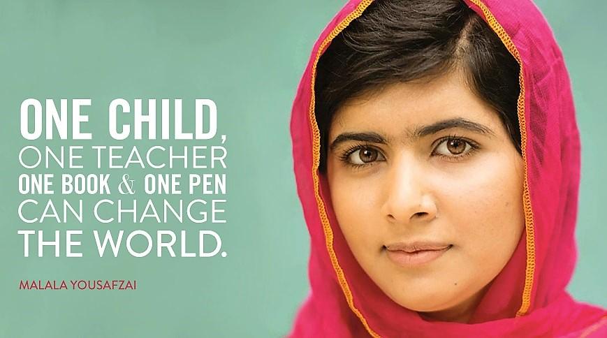 Malala Yousafzai, una paladina del diritto all'istruzione