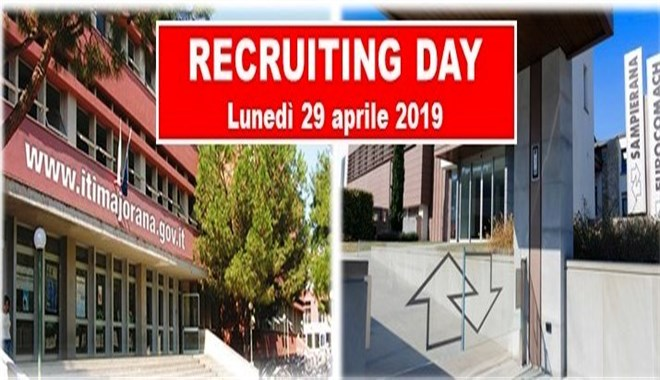 RECRUITING DAY al Majorana con SAMPIERANA S.p.A