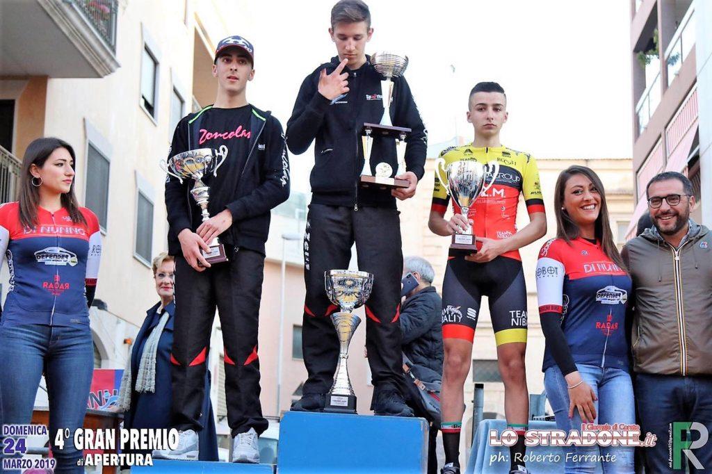 Davide Aricò della IV B EN, di diciassette anni, inizia a praticare ciclismo agonistico dall'età di quattordici anni e si aggrega ad una squadra di suoi coetanei, il Team Nibali,