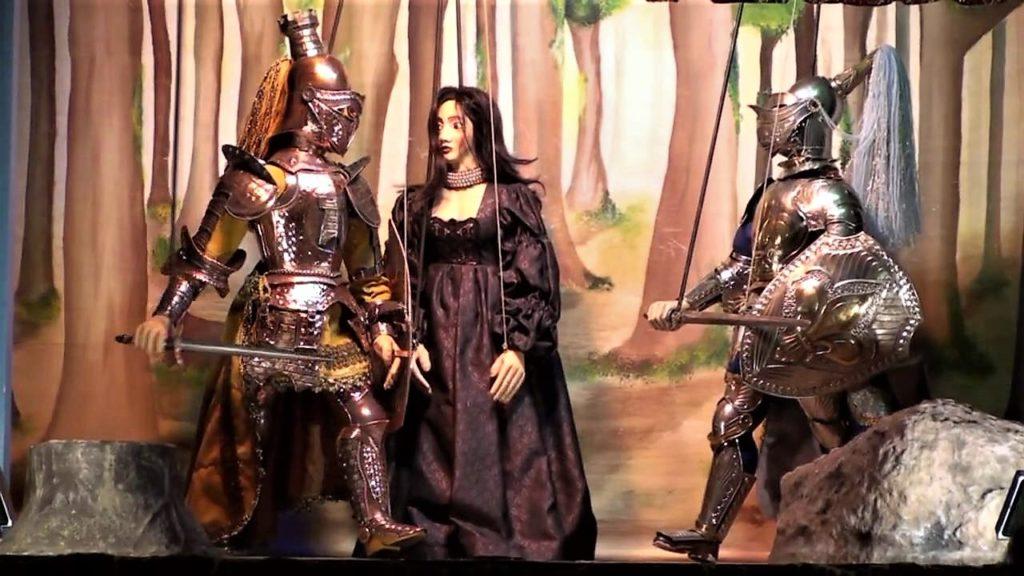 Le marionette del Settecento venivano animate dall'alto
