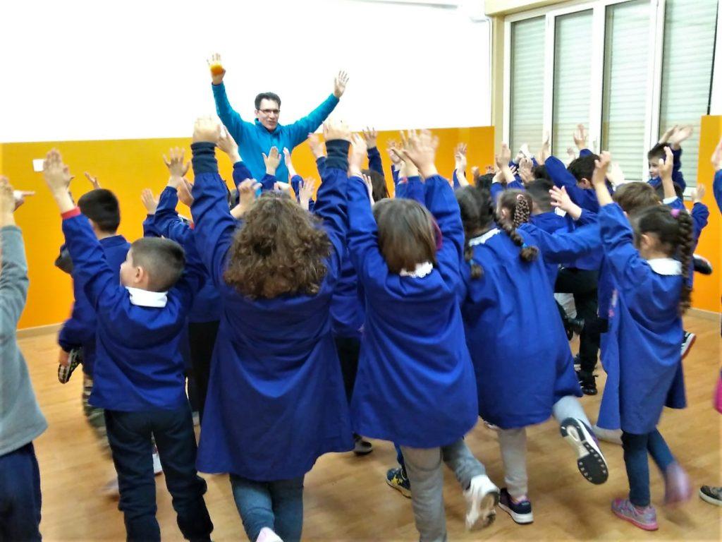 L'iniziativa Sportiamo… Crescere in movimento è collocata nel progetto dell'Istituto Salute-Benessere.