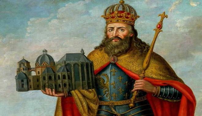 Carlo Magno; la sua vita, il suo regno, i suoi amori