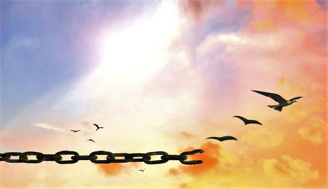 Libertà? voglia di muoversi, pensare, amare, dire, respirare
