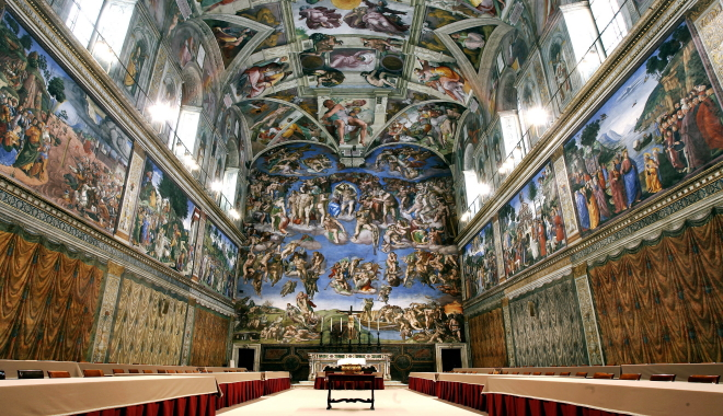 """La """"Cappella Sistina"""" e la sua volta spettacolare"""