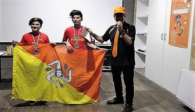Militi: vice campioni nazionali Geometriko con A. Biondo e A. Pavone