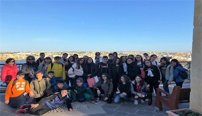 Viaggio d'istruzione a Malta per l'I.C. Foscolo: indimenticabile