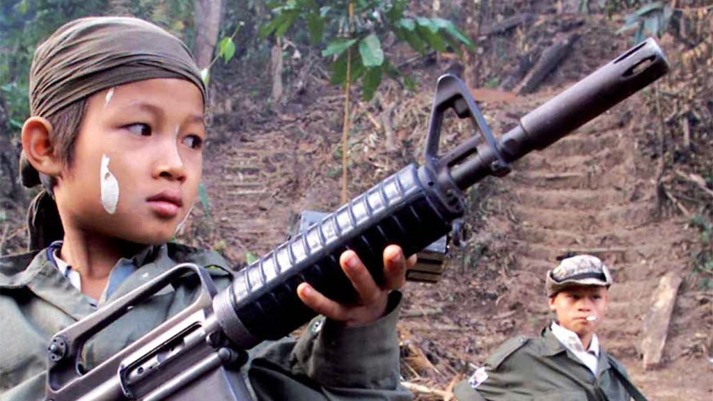 Bambini soldato: manodopera infantile a costo zero