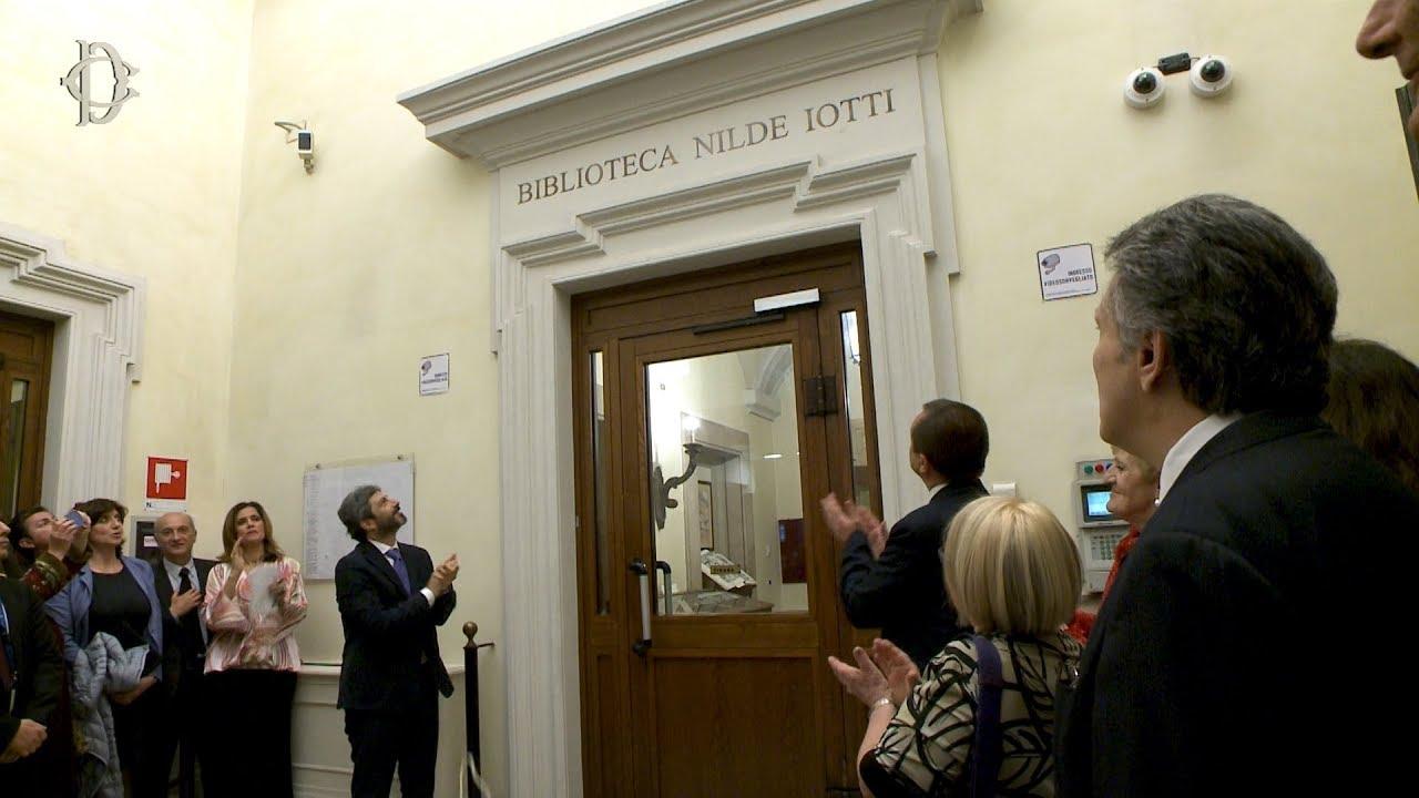 A nilde iotti intitolata la biblioteca della camera for Biblioteca camera dei deputati