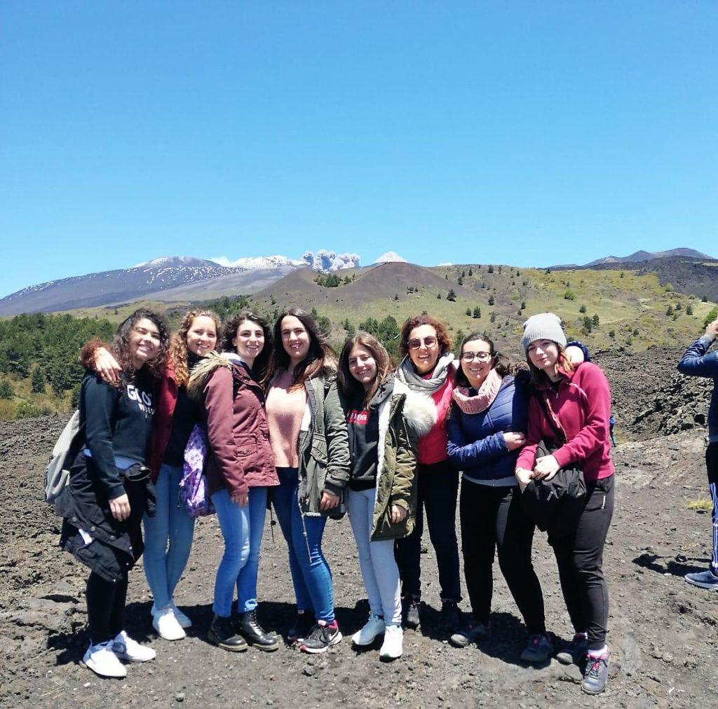 Percorso-stage di vulcanologia sull'Etna per il Liceo Sciascia- Fermi