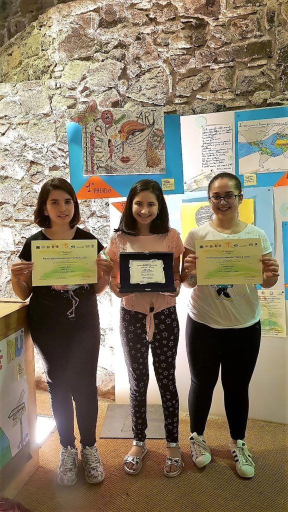 Premio Artistico Letterario Ilaria e Lucia, premiata alunna della Garibaldi
