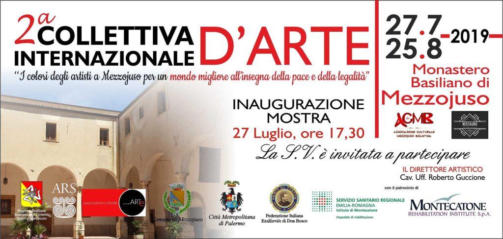 Mezzojuso, 27 luglio inaugurata la Seconda Collettiva d'Arte