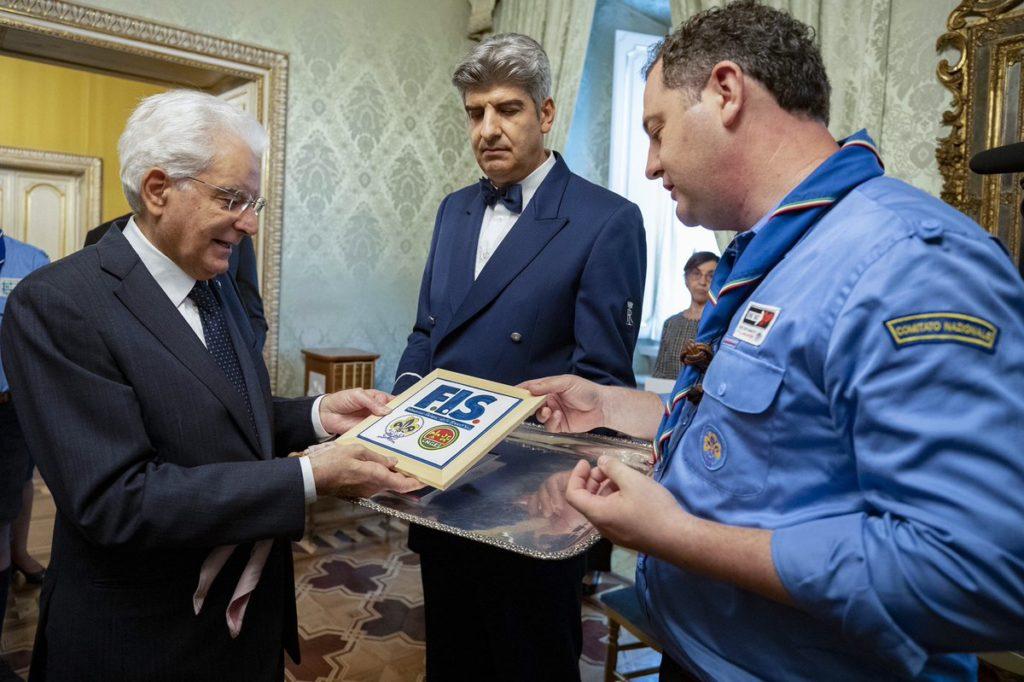 Gli scout, il nostro tempo e il presidente Mattarella
