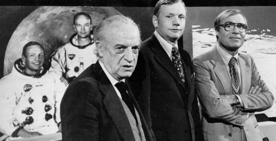 Tito Stagno, quelle 25 ore di diretta per sbarco Luna