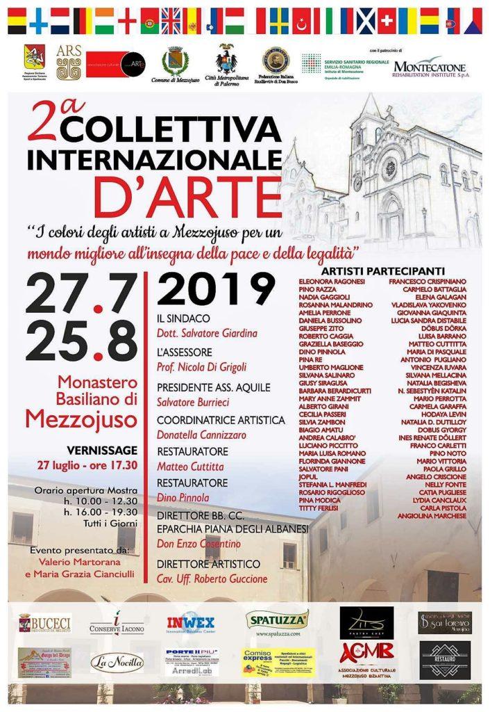 Mezzojuso, 27 luglio inaugurazione della Seconda Collettiva d'Arte