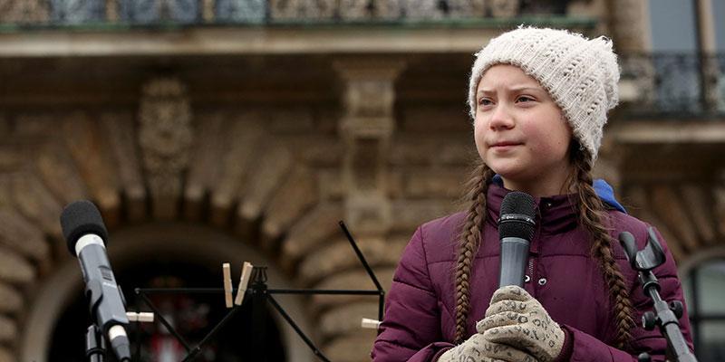 """Lettera a Greta: """"non si è mai troppo piccoli per fare la differenza"""""""