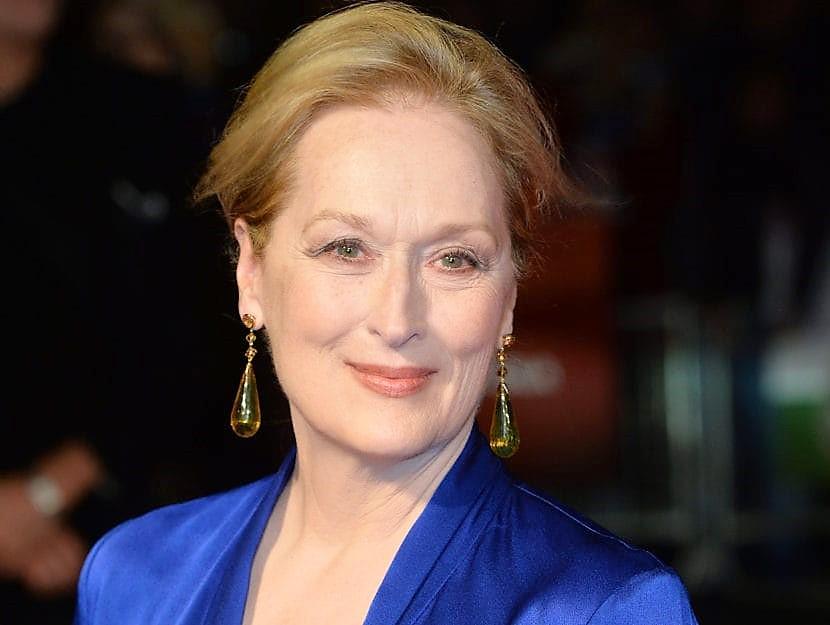 Meryl Streep, una splendida ragazza settantenne!
