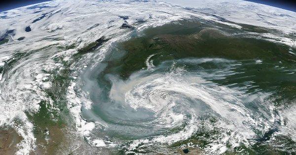 Incendi in Siberia e Alaska, a nord del circolo polare artico