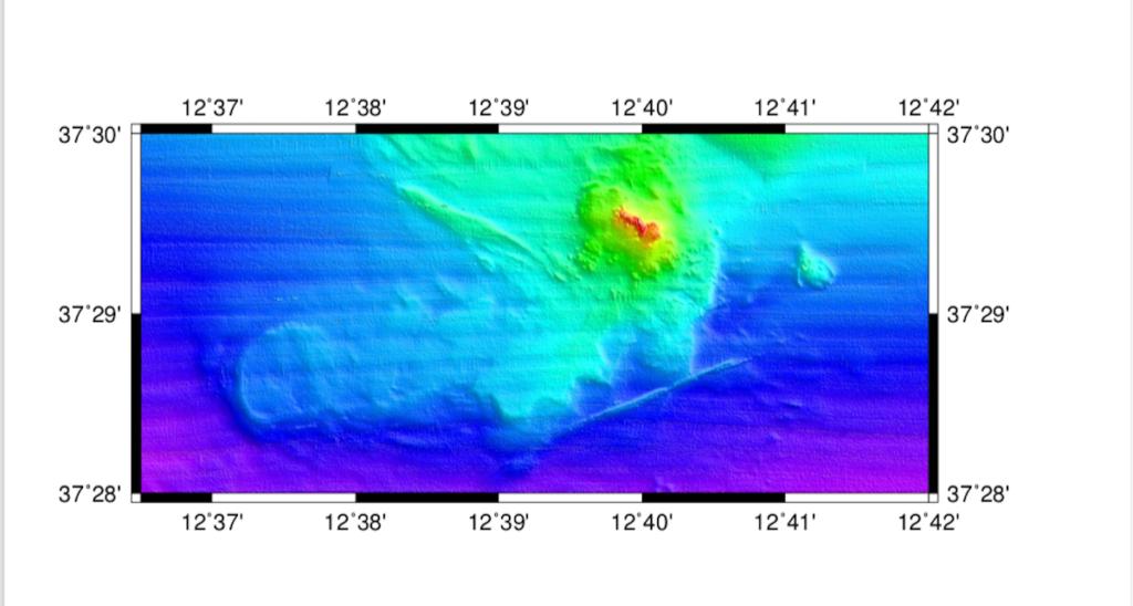 Scoperti sei vulcani sottomarini in Sicilia