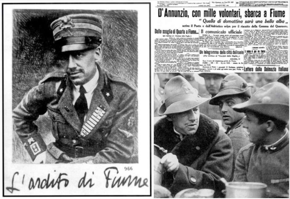 Impresa di Fiume: il dodici settembre centesimo anniversario