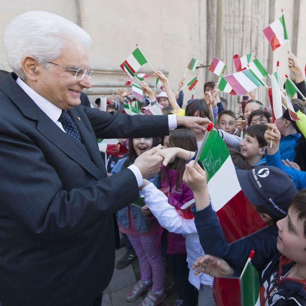 Il Presidente Mattarella inaugura l'anno scolastico a L'Aquila