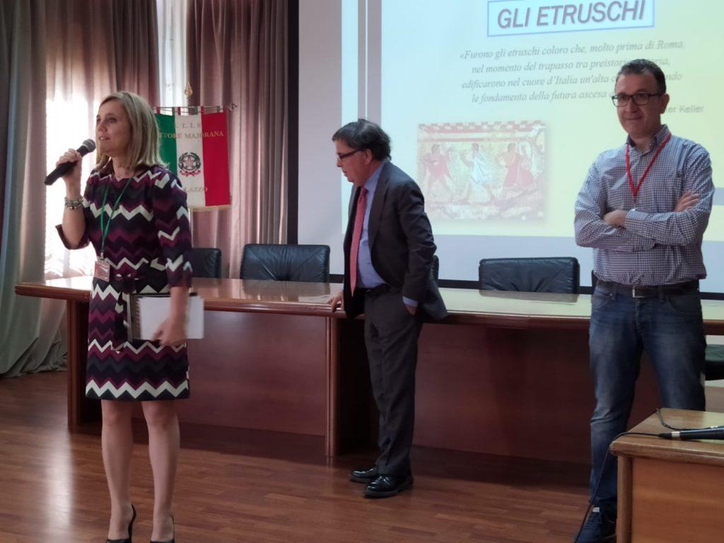 Etruscologia al Majorana con il prof. Franco Frati