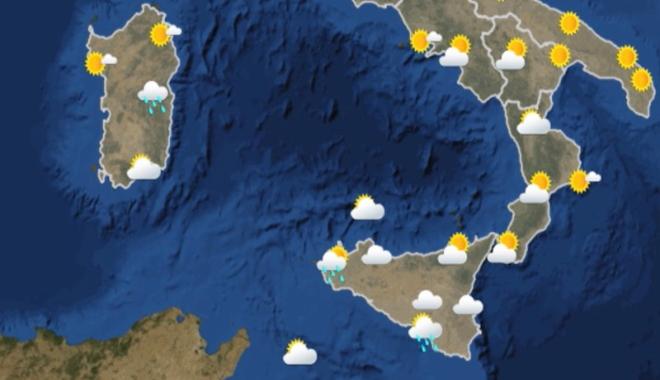 Previsioni meteo per le giornate del 18 e 19 gennaio 2020