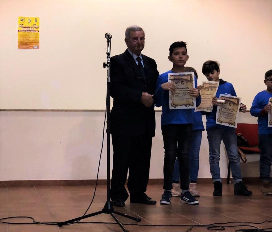 """Gli alunni del terzo comprensivo al concorso """"INCONTRO DI POETI"""""""