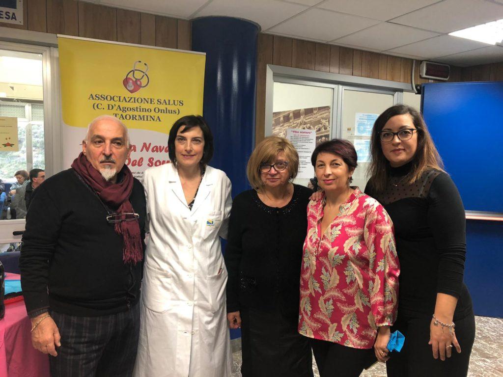 """I ragazzi della""""Foscolo"""" in visita all'ospedale """"San Vincenzo"""" di Taormina"""