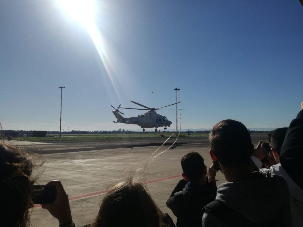 L'ITT Majorana alla Sezione Aerea di Manovra della Guardia di Finanza
