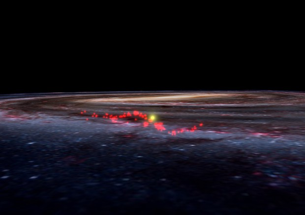 "Scoperta nella Via Lattea una gigantesca 'onda' di gas.""Culla di Stelle"""
