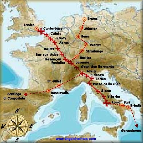 La Via Francigena, Itinerario Culturale del Consiglio d'Europa