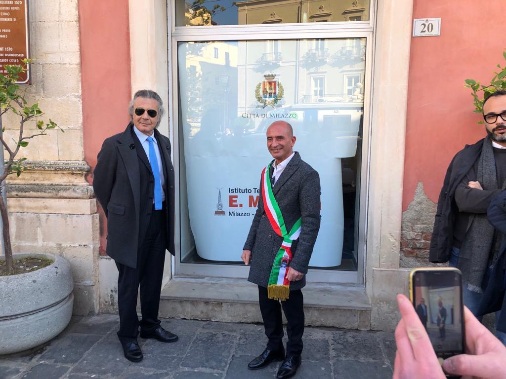 Il Preside Vadalà e il sindaco Formica inaugurano InfoPoint meteorologico