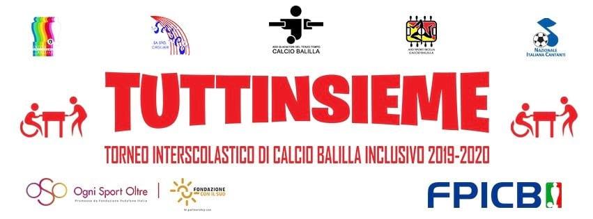 """Calcio Balilla: torneo interscolastico inclusivo. Progetto """"TUTTINSIEME"""""""
