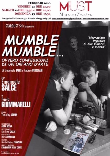 """MUMBLE MUMBLE"""