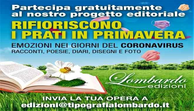 """Progetto editoriale Lombardo Edizioni """"Rifioriscono i prati in primavera"""""""