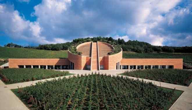 Vino, cultura e architettura