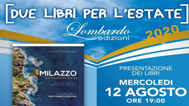 """Lombardo Edizioni, riparte dopo il lockdown con """"Due libri per l'estate""""."""